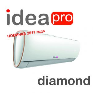 Кондиционер Idea DIAMOND PRO 2017 ISR12HRPA7N1 ION
